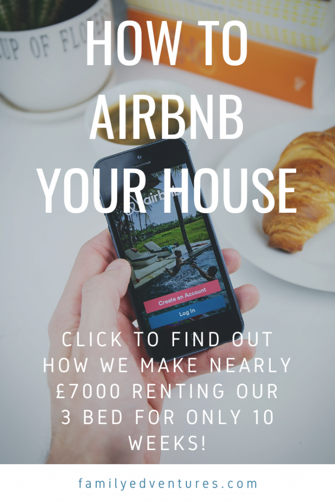 How to airbnb your house
