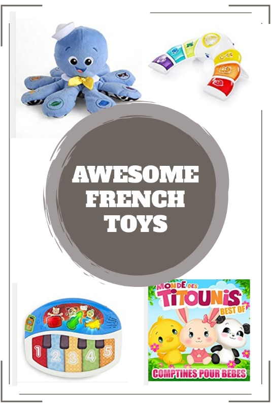 French baby toys and books