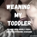 How To Stop Breastfeeding a Toddler!