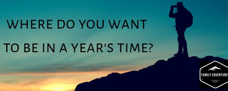 Where do you want to be in a years time?