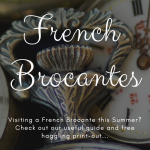 What are Brocantes?