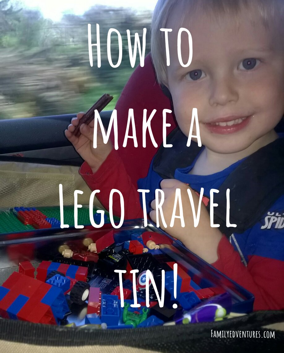How To Make a Lego Travel Tin