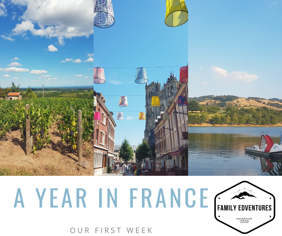 A year in france…our first week!