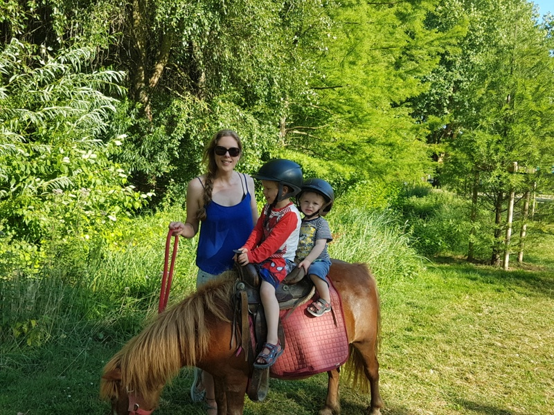 Amiens with kids horse ride