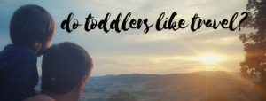 Do toddlers like travel