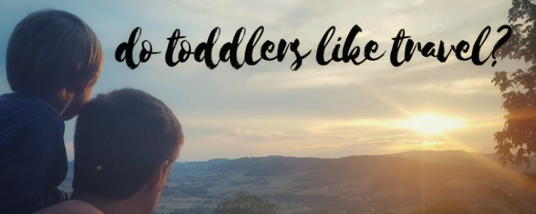 Do Toddlers Like Travel?