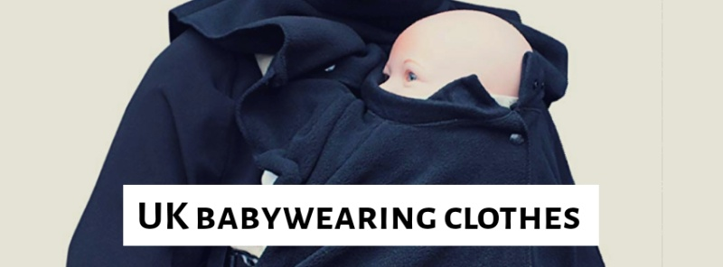Baby wearing in winter