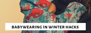 Babywearing in winter