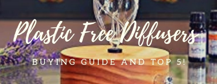 Non Plastic Diffuser –  Glass and Wood Essential Oil Diffusers