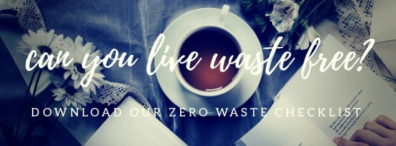 Waste Free Challenge  | 50+ zero waste swaps!