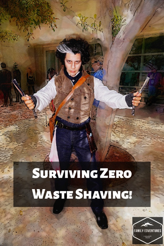 Zero waste shaving men