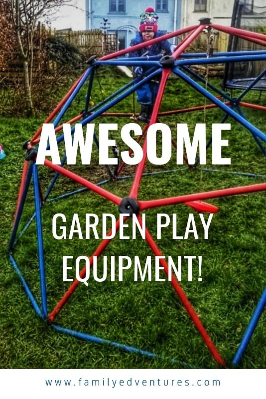 Garden play equipment | garden ideas for kids