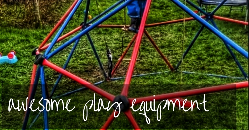 Awesome Garden Play Equipment To Get Kids Outside!