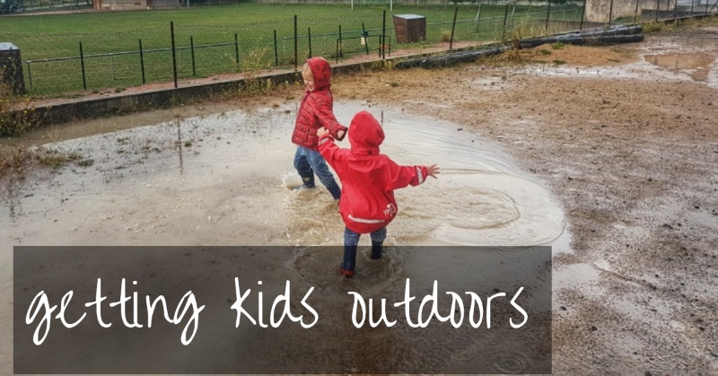 Getting Kids Outside When They'd Rather Stay Indoors!