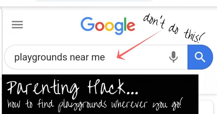 Playgrounds Near Me? | Stop Googling and do this instead!