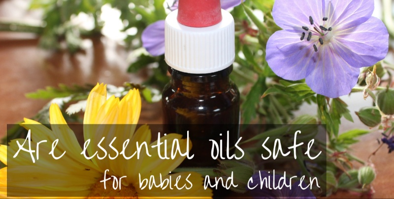 Essential oils around babies