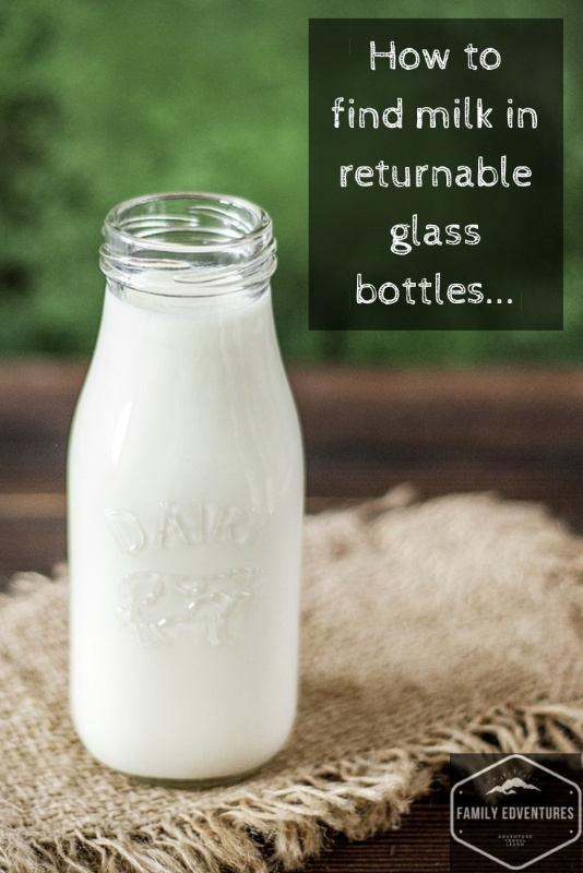 Zero waste shopping list milk