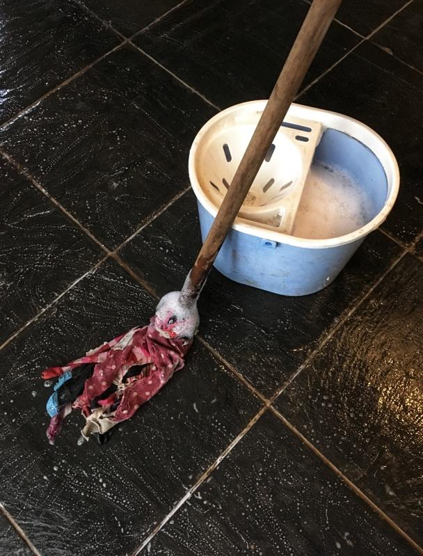 zero waste mop and bucket
