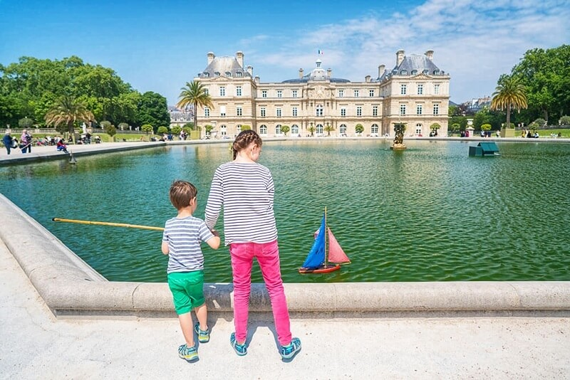 Best Playgrounds in the World Luxembourg Park in Paris