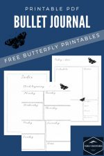 Free printable bullet journal pages – beautiful, simple FREE printable bullet journals