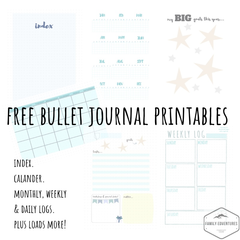 photograph relating to Bullet Journal Pages Printable named Bullet magazine index no cost printables