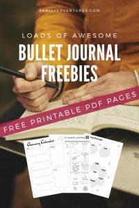 bullet journal printables