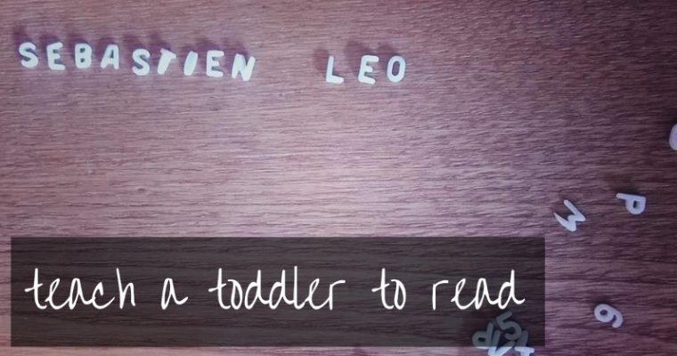How to teach toddlers to read | 7 must-do activities!