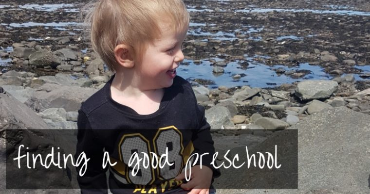 Preschool near me | how to find one that doesn't suck!