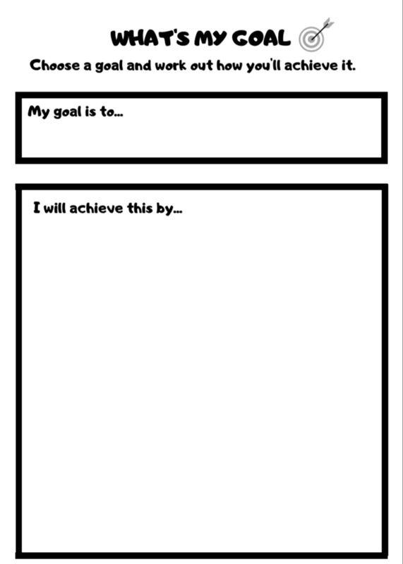 Growth Mindset activities Kids goals
