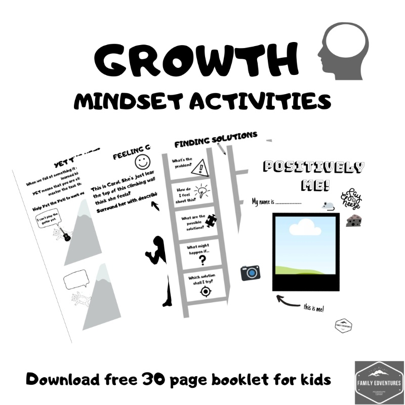Free Growth mindset activities for kids