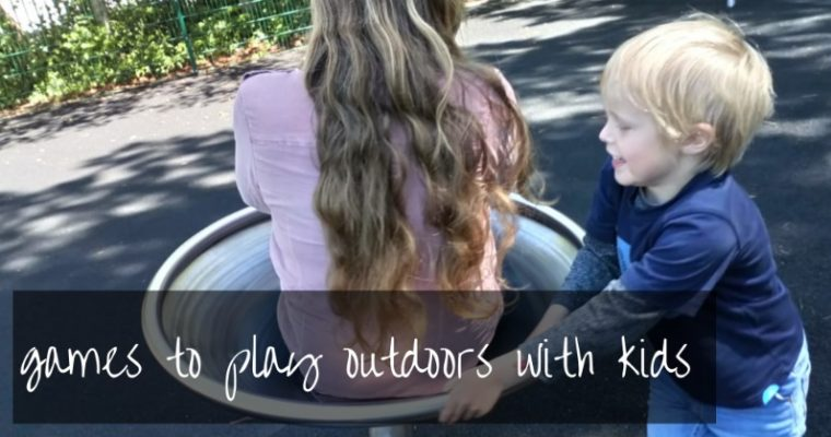 48 + games to play outside with kids | free printable booklet