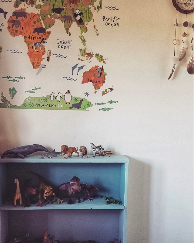 Zero waste baby kids room