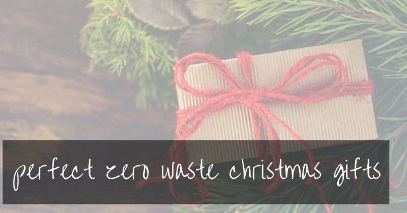Zero Waste Christmas Gifts | the best for 2020