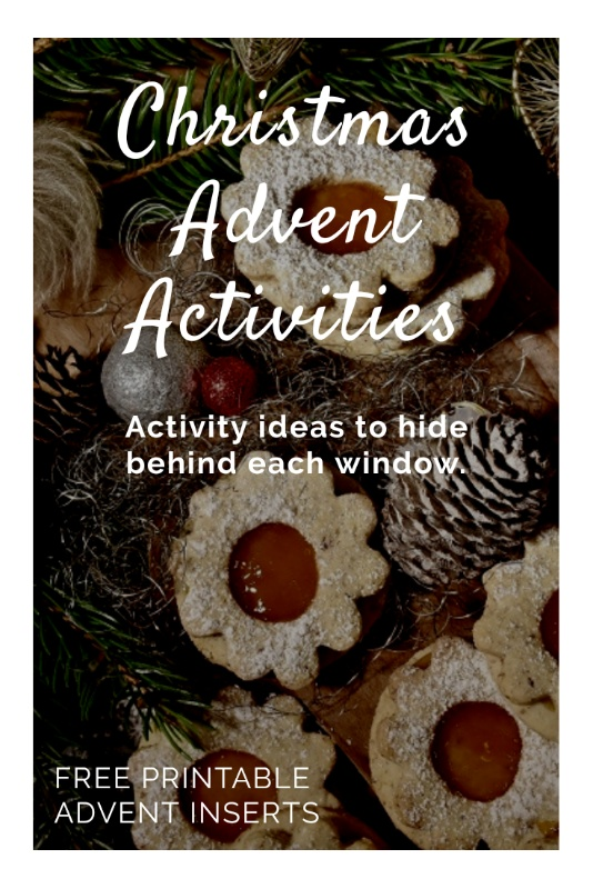 Advent calendar activity ideas