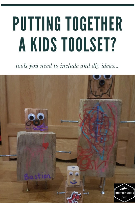 real tools for kids toolset