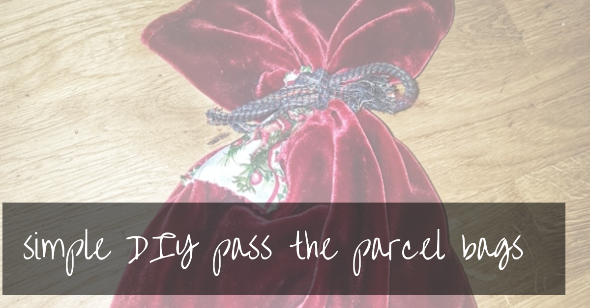 Reusable Pass The Parcel | Zero Waste Gift Wrapping