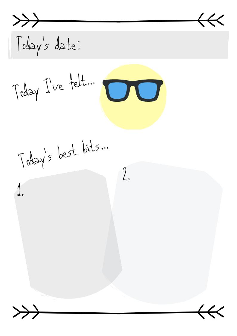 Kids bulley journal daily log