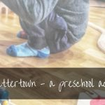 Train To Lettersville | Easy Toddler Activity To Learn Letters