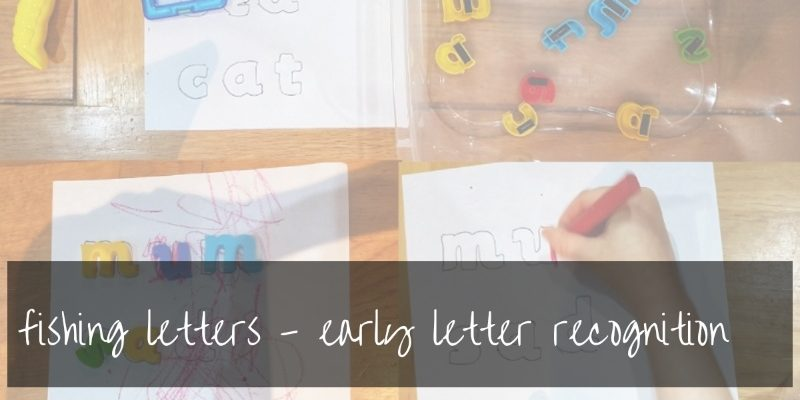 Letter recognition games