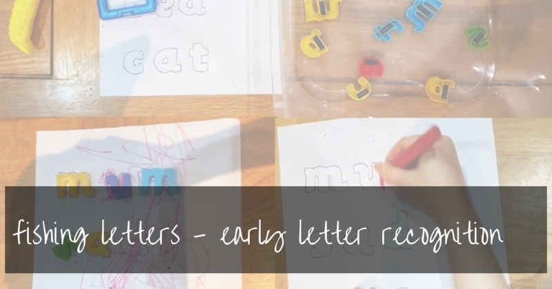 Fishing Letters | A Letter Recognition Activity For Toddlers And Preschoolers