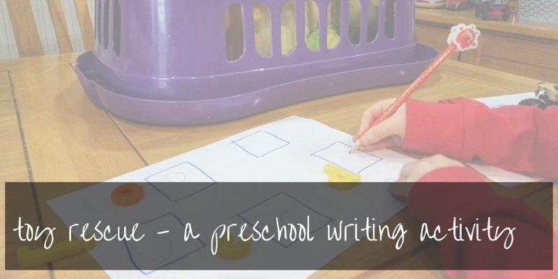 preschool toddler activities