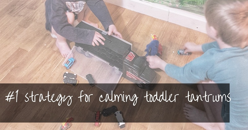 How To Deal With Toddler Tantrums | the #1 rule to calm toddlers quickly