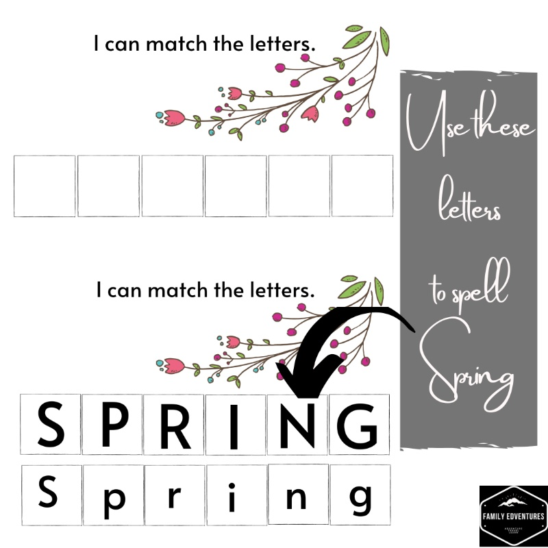 free spring busy book