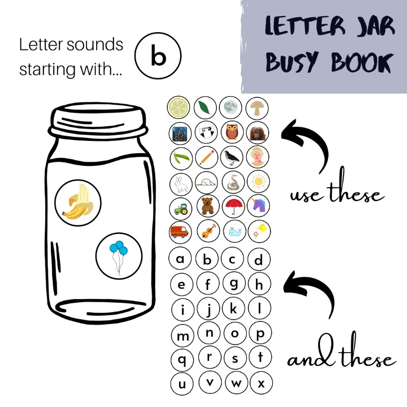 Letter-jar-busy-book
