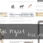 Free Stone Age Printable Worksheets