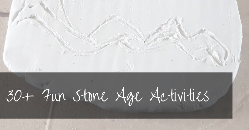 Stone Age Activities | free 35+ page caveman printables