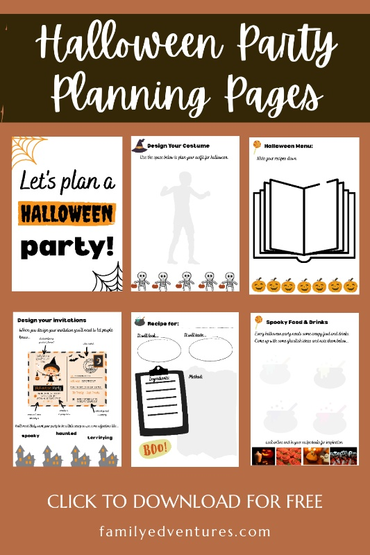Halloween Party Planning templates