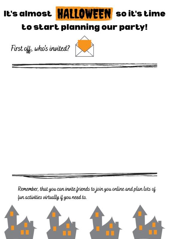 Halloween-invitation-template